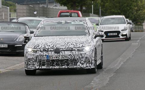 2021 Volkswagen Golf GTI Spied – New Performance Hatchback
