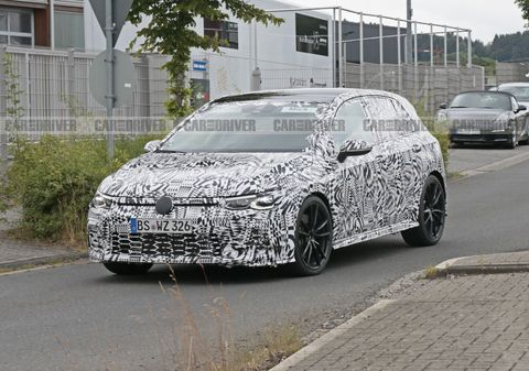 2021 Volkswagen GTI (spy photo)