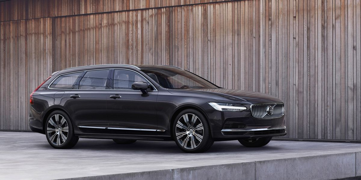 Volvo S90 and V90 Will Get Slightly More Beautiful for 2021