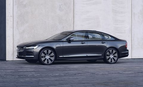 2021 Volvo S90 front