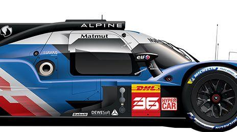 alpine wec hypercar