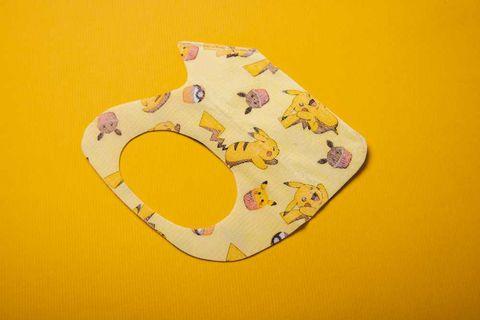 寶可夢醫療立體口罩可愛爆擊!皮卡丘、胖丁、卡比獸、伊布圖案,小臉女孩、兒童專屬!