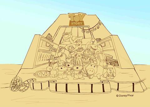 2021福隆沙雕以「皮克斯動畫」為主題!8公尺玩具總動員、神還原胡迪與三眼怪、40座必拍沙雕衝一波