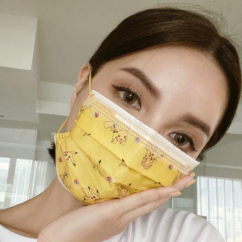 寶可夢迷尖叫!親親jiu jiu推出12款「寶可夢醫用口罩」,皮卡丘、小火龍、傑尼龜一次搜集