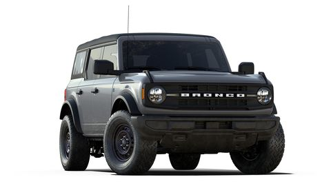 2021 ford bronco black diamond trim