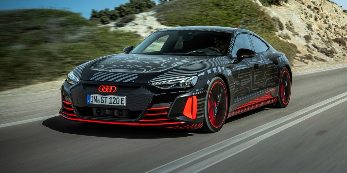 2022 Audi RS e-tron GT Charges after the Taycan - My Own Auto