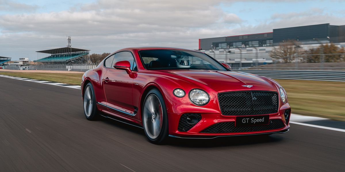 2022 Bentley GT Speed Is a Sharper Continental