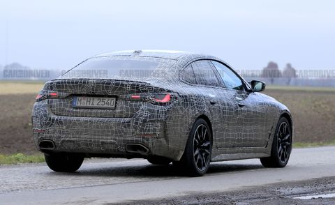 2022 bmw 4 series gran coupe spied