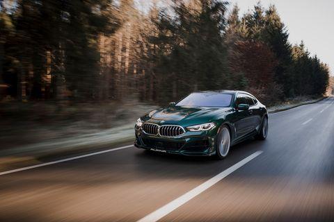 2022 bmw alpina b8 gran coupe front