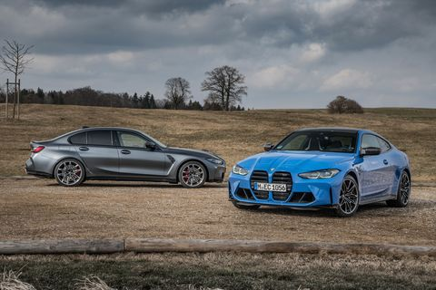 2022 bmw m3 and m4 competition xdrive