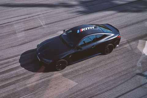 2022 bmw m4 competition x kith