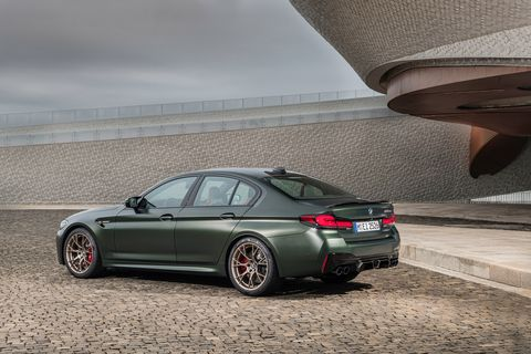 2022 bmw m5 cs rear
