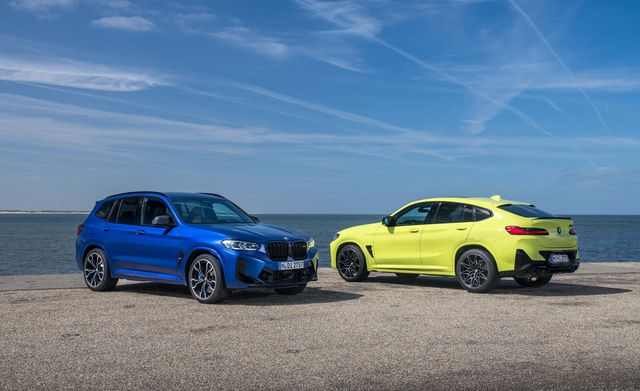2022 bmw x3 m competition and x4 m competition euro spec