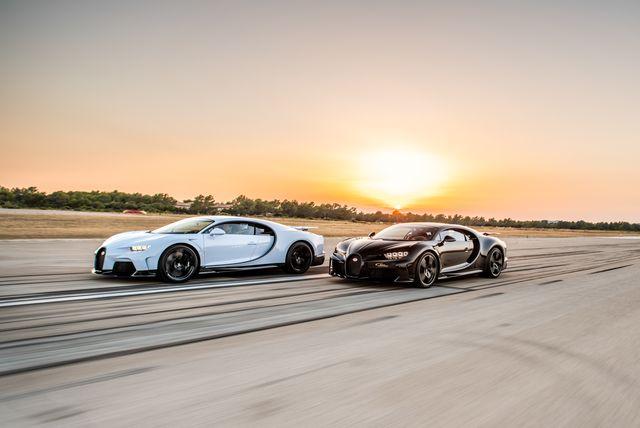 2022 bugatti chiron supersports
