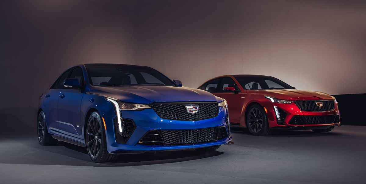 Cadillac CT4-V and CT5-V Blackwings Offer Crazy-Expensive Options