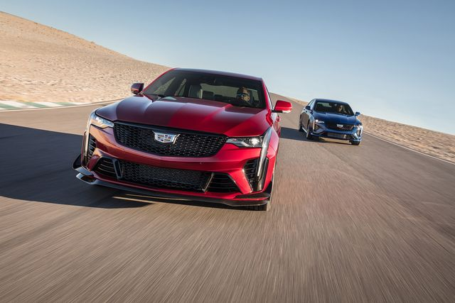 the ct4 v blackwing will be the most powerful and fastest cadillac ever in the subcompact class the ct4 v blackwing is more nimble, and benefits from extensive aerodynamic development and testing