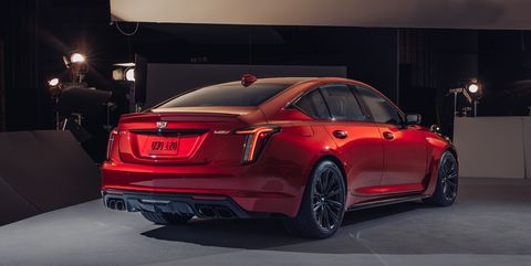 2022 cadillac ct5 v blackwing rear