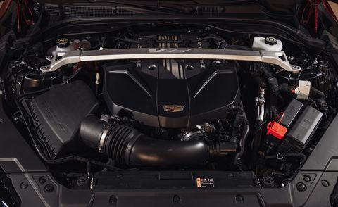 2022 cadillac ct5 v blackwing engine