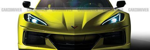 2022 Chevrolet Corvette Z06 (artist's rendering)
