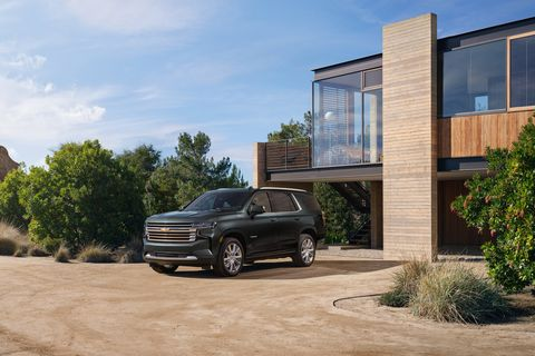 2022 chevrolet tahoe high country