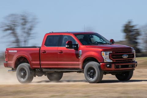 2022 ford f250 lariat tremor front