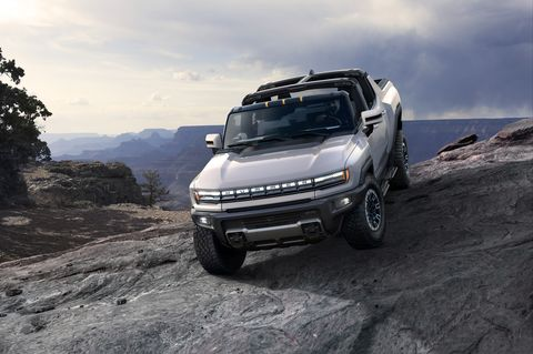 the 2022 gmc hummer ev is a first of its kind supertruck developed to forge new paths with zero emissions