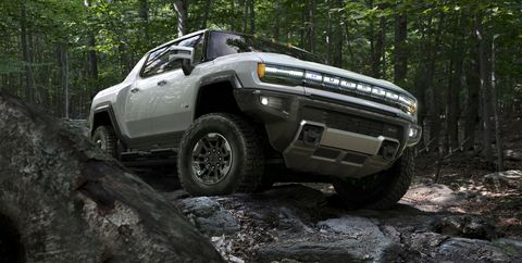2022 gmc hummer ev off road equipment