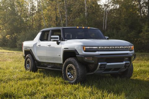 here are the first photos of the 2022 gmc hummer ev edition 1