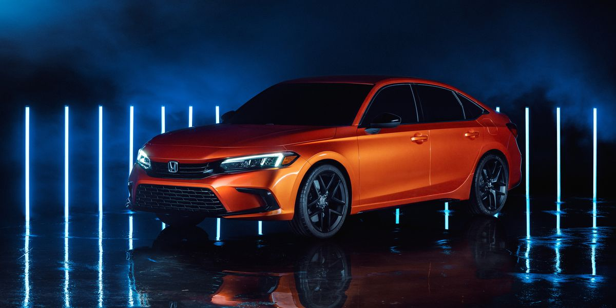 View Photos of the 2022 Honda Civic Prototype