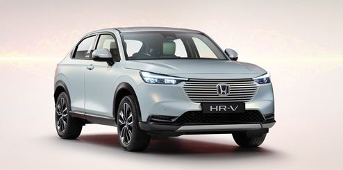 New Honda HR-V Revealed for Europe with Hybrid Powertrain