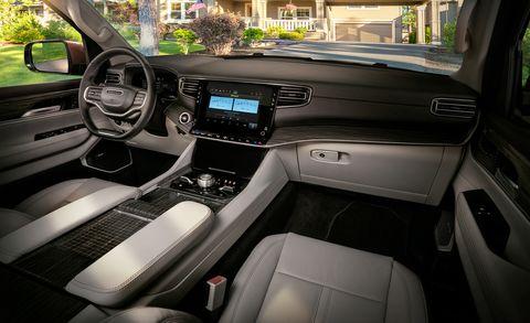 2022 jeep wagoneer interior