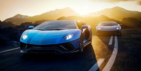 2022 lamborghini aventador ultimate roadster and coupe