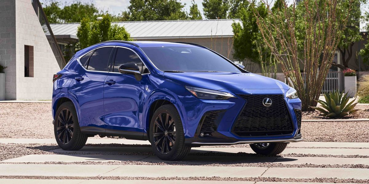 2022 Lexus NX Redone with New Engines, New Infotainment, and a New Look
