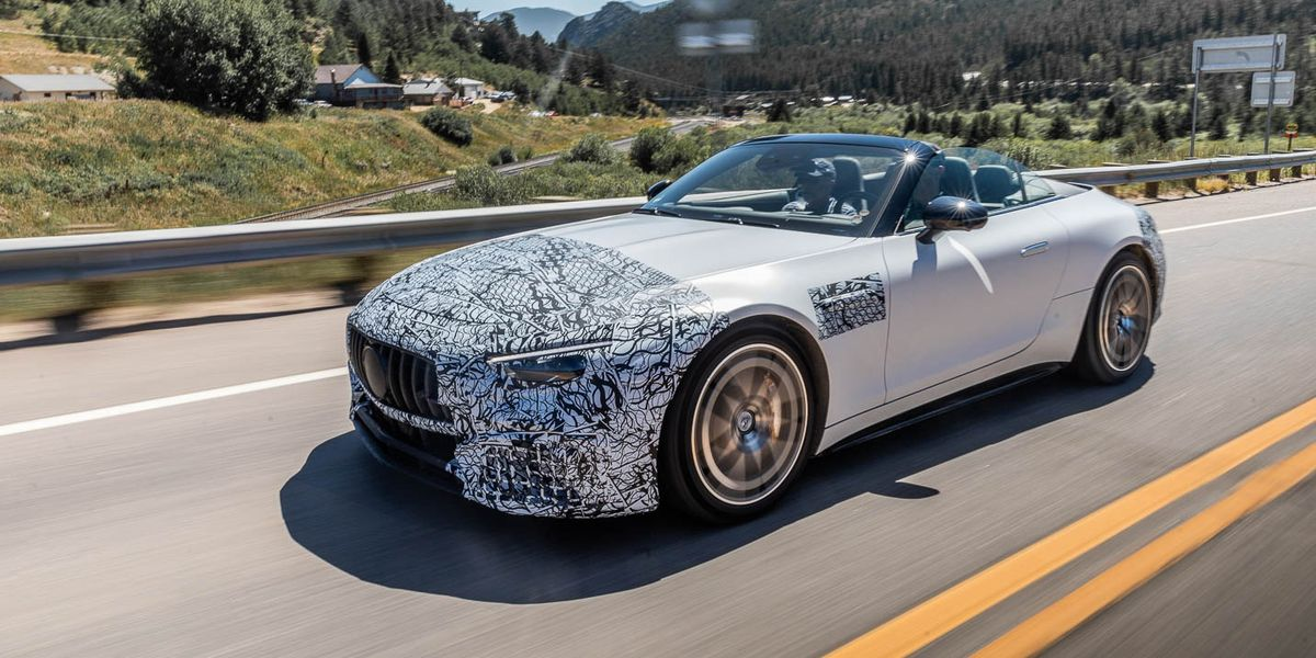 2022 Mercedes-AMG SL Goes Off in Several New Directions