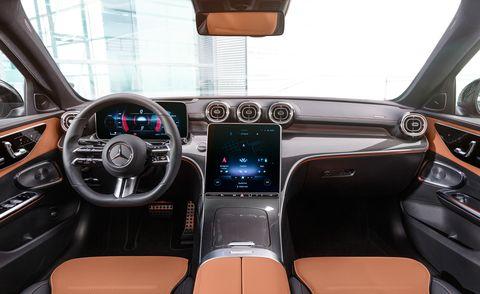 2022 mercedes benz c class interior