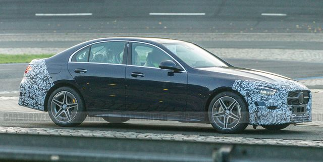 2022 Mercedes-Benz C-Class Shows Off Its New Look