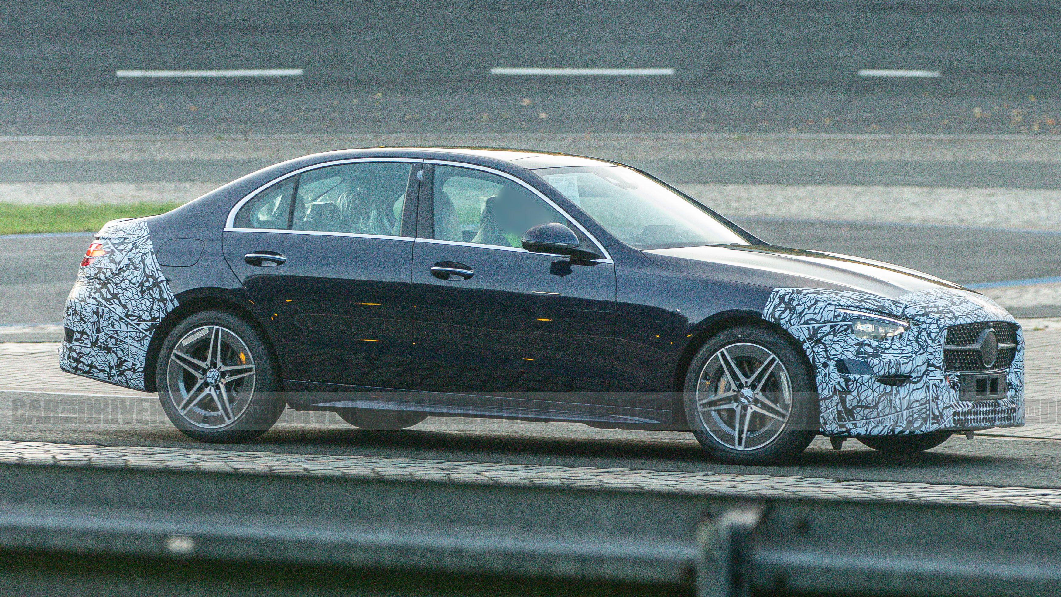 2022 Mercedes Benz C Class Shows Off Its New Look