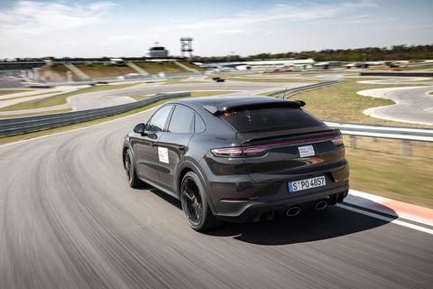 2022 porsche cayenne turbo coupe prototype