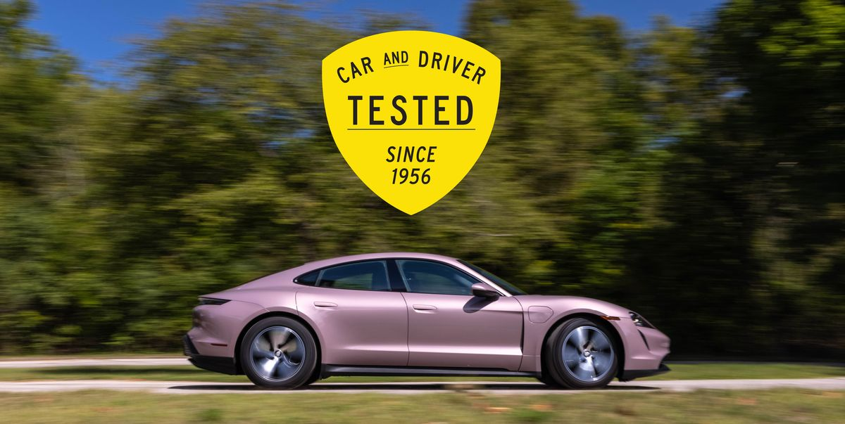 2021 Porsche Taycan is the Rare EV that Beats Its EPA-Estimated Range in Our Testing
