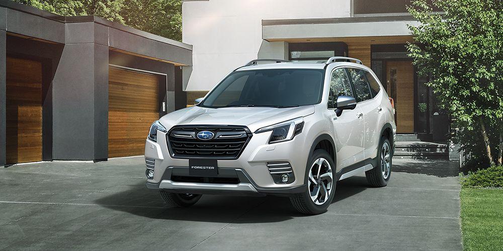 Subaru Forester 2022 посвежел