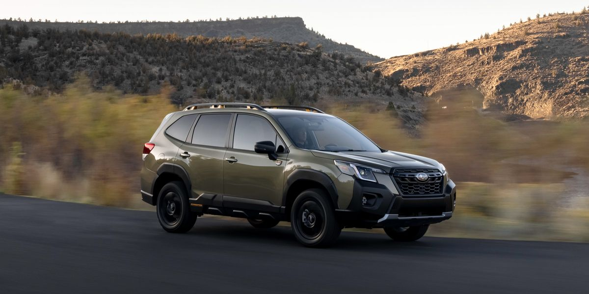 2022 Subaru Forester Wilderness Conquers the Outback