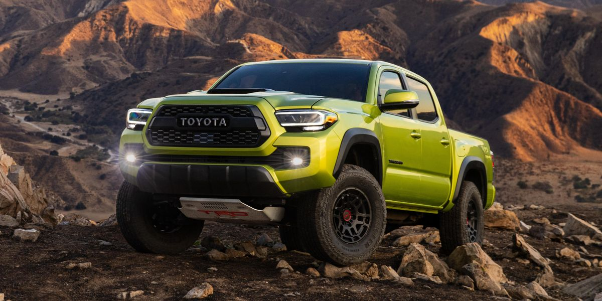 2022 Toyota Tacoma TRD Pro Is Taller with a Bright New Color