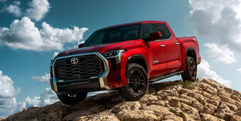 2022 toyota tundra limited front exterior