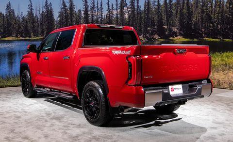 2022 toyota tundra limited trd rear exterior
