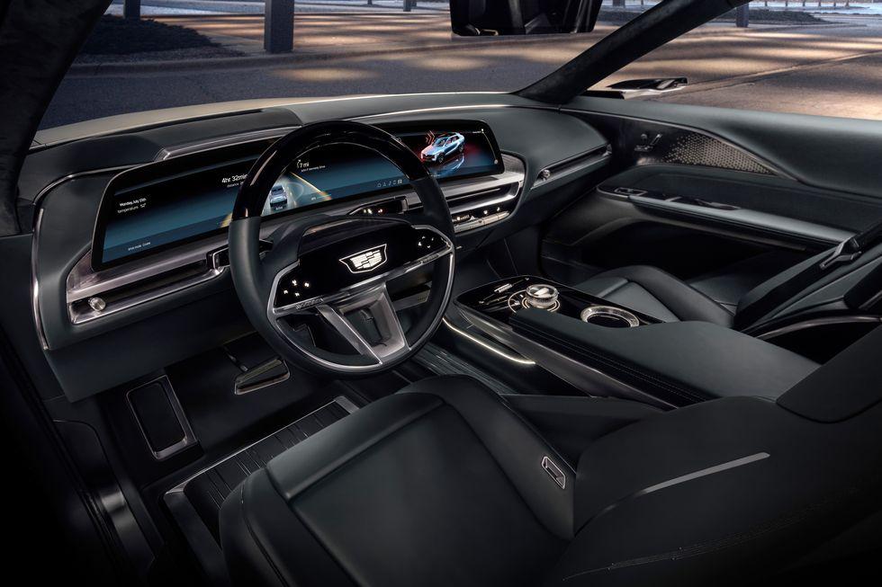 صور سيارة كاديلاك ليريك 2023 الكهربائية دات التصميم الفضائي 2023-cadillac-lyriq-106-1596744487