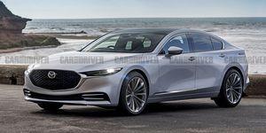 Mazda 6 tiếp theo có thể có RWD