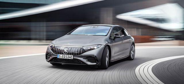 2023 Mercedes-AMG EQS Has Tesla in Its Sights