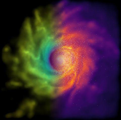 chameleon theory gravity galaxy