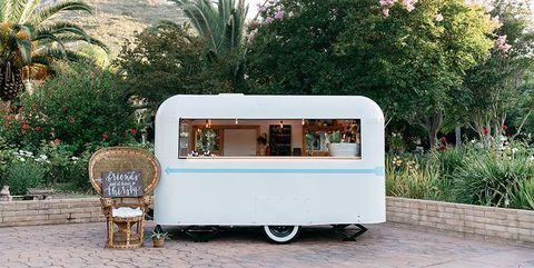 Mobile Bar for Weddings - Penny Bar Trailer