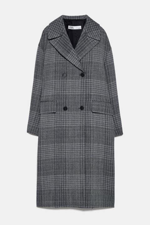 Clothing, Coat, Outerwear, Sleeve, Overcoat, Collar, Trench coat, Jacket, Robe,